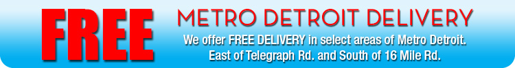 Free Metro Detroit Delivery Zone