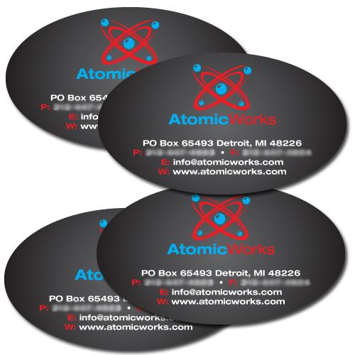 Oval business cards metro detroit mi 16pt discount printing detroit colourmoves