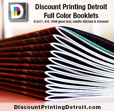 Booklet Printing Metro Detroit Michigan