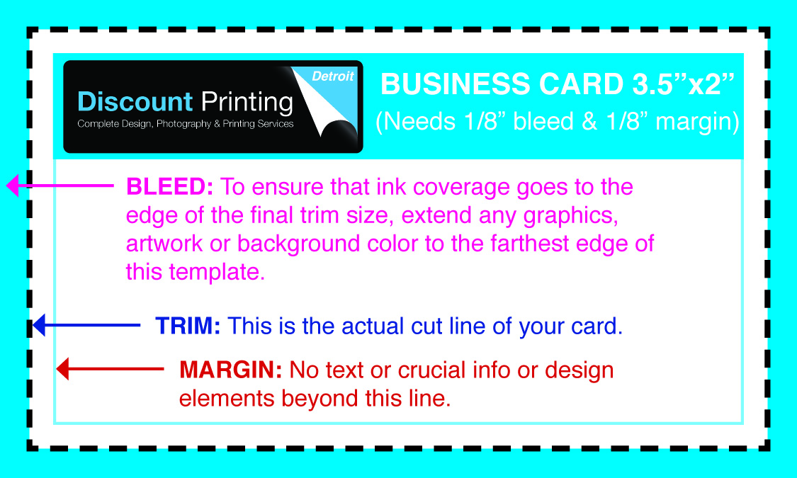 Printing Templates for Graphic Design   Discount Printing Detroit