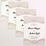 5x7 Invitations / Announcements Pearlized Metallic