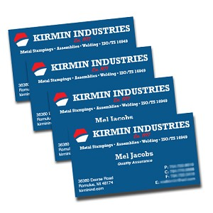 Business Cards - Silk Laminated on 16pt